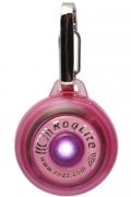 Rogz - Светящаяся подвеска на ошейник, розовая