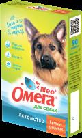 Омега Neo + - мультивитаминное лакомство для собак Крепкое здоровье (90 таб.)