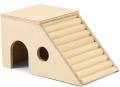 Гамма - Домик-лестница для грызунов деревянный (17 x 12 x 10 см)
