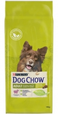 Dog Chow Adult Lamb - сухой корм для собак с ягненком