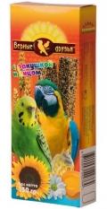 Верные друзья - лакомство для волнистых попугаев палочки с ракушкой и яйцом (150 г)