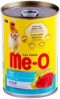 Me-O Adult - консервы для кошек с тунцом в желе (400 г)