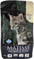 Matisse Salmon & Tuna - сухой корм для взрослых кошек с лососем и тунцом