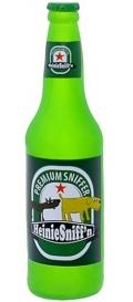 "Silly Squeakers Beer Bottle Heini Sniffn - Виниловая игрушка-пищалка для собак Бутылка пива ""Хайне нюханье"""