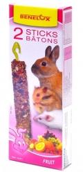 Benelux Sticks rodents - Лакомые палочки для грызунов с фруктами (2 шт.)