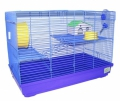 N1 - Клетка для грызунов прямоугольная, укомплектованная 3 этажа