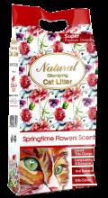"""Indian Cat Litter - комкующийся наполнитель """"Весенние цветы"""""""