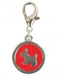 """Triol - Подвеска """"Медальон с собачкой"""" (5 см)"""