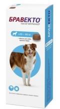 Бравекто - жевательная таблетка от клещей и блох для собак 20 - 40 кг (1000 мг) 1 шт.