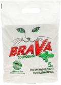Brava «Сосновый» - наполнитель древесный впитывающий (5 л)
