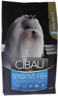 Cibau Sensitive Fish Mini - корм для чувствительных собак мелких пород