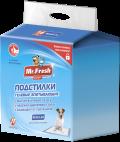 Mr. Fresh Expert Regular - пеленки гелевые впитывающие 60 x 90 см (16 шт.)
