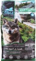 """Wolf""""s Mountain Wild Forest - беззерновой сухой корм для собак с дичью и ягненком"""