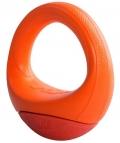 """Rogz - игрушка для собак кольцо-неваляшка """"Pop-Upz"""" (оранжевая)"""