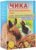 Чика - Витаминизированная зерносмесь для декоративных кроликов (400 г)