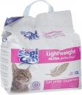 Sepi Cat - облегченный комкующийся наполнитель ультра, Антибактериальный (10 л)