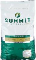 """Summit Original Large Breed - сухой корм для собак крупных пород """"Три вида мяса"""" с цыпленком, ягненком и лососем (12,7 кг)"""