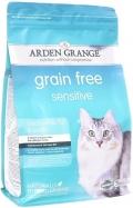 Arden Grange Adult Cat Sensitive GF - сухой беззерновой корм для кошек с чувствительной кожей и желудком