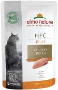 Almo Nature HFC Jelly - паучи для кошек с курицей в желе (55 г)