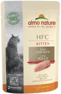 Almo Nature HFC Kitten - паучи для котят с курицей (55 г)