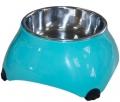 Super Design - миска меламиновая для собак высокая (160 мл) аквамарин