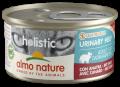Almo Nature Holistic Urinary Help - консервы для профилактики мочекаменной болезни у кошек с уткой (85 г)