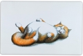 """Trixie - коврик под миску """"Толстый кот"""" (44 x 28 см)"""