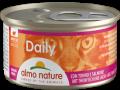 Almo Nature Daily mousse - мусс для кошек с тунцом и лососем (85 г)