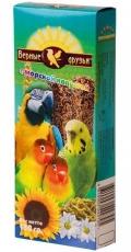 Верные друзья - лакомство для попугаев палочки с морской капустой (150 г)