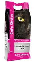 """Indian Cat Litter Cat's Choice - комкующийся наполнитель """"Детская присыпка"""""""