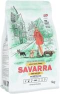 Savarra Adult Small - сухой корм для собак малых пород с уткой и рисом