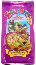 """Грызунчик 1 - Корм-лакомство для грызунов и кроликов """"Хрустящие гранулы"""" (150 г)"""
