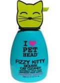 """Pet Head Fizzy Kitty - шампунь-мусс без смывания для кошек """"Клубнично-лимонадный"""" (200 мл)"""