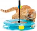"Kitty City Swat Track & Scratcher - игрушка для кошек ""Поле Чудес"""