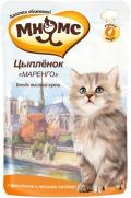"""Мнямс - пауч для котят цыпленок """"Маренго"""" (85 г)"""