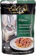 Edel Cat - Нежные кусочки в соусе Кролик и Утка (пауч, 100 г)