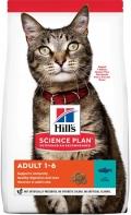 Hill`s Science Plan Adult - сухой корм для взрослых кошек с тунцом