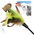 GiGwi - игрушка для кошек Дразнилка с рыбками на длинной палке