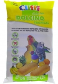 Cliffi Dolcino tropical - яичный бисквит с тропическими фруктами для птиц (35 г)