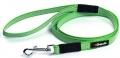Gripalle - Прорезиненный нейлоновый поводок для собак (2 x 150 см) стальная фурнитура, зеленый