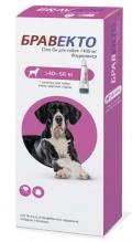 Бравекто капли спот-он от блох и клещей для собак 40 - 56 кг (1400 мг)