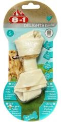 8 in 1 Dental Delights S - косточка с курицей и минералами для мелких и средних собак (11 см)