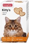 Beaphar Kitty`s+Taurine+Biotin - Беафар витаминизированное лакомство с биотином и таурином для взрослых кошек