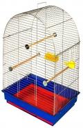 """Дарэлл - Клетка для птиц """"Юлия"""" укомплектованная (41 x 30 x 65 см) разборная, в коробке"""