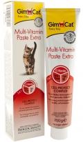 """GimCat Multi-Vitamin Extra - мультивитаминная паста для кошек """"Экстра"""""""