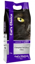 "Indian Cat Litter Cat's Choice - комкующийся наполнитель ""Лаванда"""