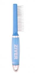 Ziver - расческа с переменными вращающимися зубчиками (18+17) с гелевой ручкой