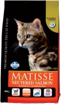 Matisse Neutered Salmon - сухой корм для кастрированных и стерилизованных кошек с лососем