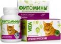 Veda - Фитомины с урологическим фитокомплексом для кошек (50 г)