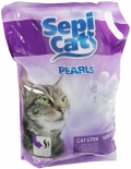 Sepi Cat - наполнитель силикагелевый Жемчужный без запаха